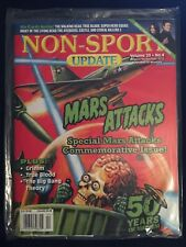 2012 Non-Sport Update Magazine Vol 23 #4 Mars Attacks Walking Dead w/Promo Cards
