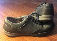 Merrell Womens Size 9.5 Gray Suede Leather Sneakers Shoes Granite J42282