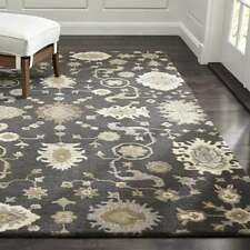 Crate & Barrel 6 x 9 Juno Handmade Persian Style Woolen Rugs & Carpet