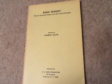 Vintage Allan Troy Chess Book--Boris Spassky!