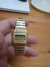 Vintage Seiko Quartz LC A133 5009 Digital Mens Watch Runs