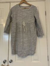 H&M Maternity Grey Tunic Jumper Dress M
