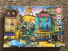 Educa Paris Streets 1500 Piece Jigsaw Puzzle Complete