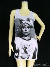 BLONDIE Tank Top, Debbie Harry PUNK Rock New Wave, Singlet T-shirt MINI Dress