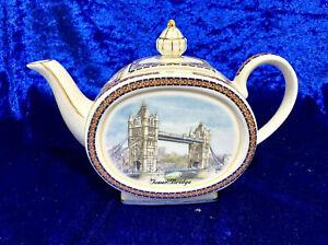 James Sadler Tea pot London Tower Bridge. Beautiful!