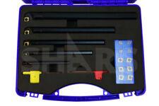 Shars 5pcs Sclcr Indexable Boring Bar Set 516 38 12 58 34 15 Inserts M