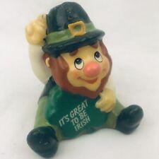 Russ Irish Leprechaun Novelty Candle St Patrick's Day Decoration