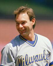1989 Milwaukee Brewers PAUL MOLITOR Glossy 8x10 Photo Baseball Print Poster