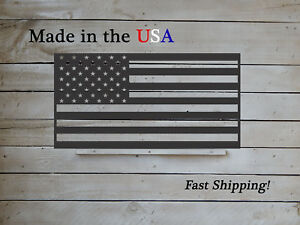 American Flag, 4 Sizes, Metal Flag, Indoor/Outdoor Old Glory, Patriotic- S1263