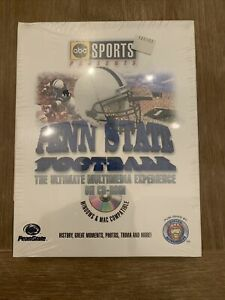 Penn State Football The Ultimate Multimedia Experience 1887-1995 cd rom rare