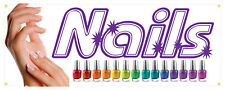 36 Nails Salon Manicure Spa Beauty Store Outdoor Decal Sign