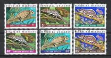 Animaux Caméléons Madagascar (101) série complète 6 timbres oblitérés
