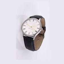 Georg Jensen Men's Watch # 381 Steel with White Dial