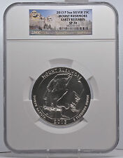 2013 5oz Silver 25C Mount Rushmore NGC SP 70 Early Releases perfect must see!