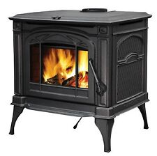 Napoleon Wood Burning Stove Cast Iron 1400C Cook top EPA efficient certified