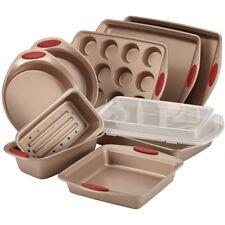 Bakeware Set Nonstick Silicone Grip Rachel Ray Oven Kitchen Pan Square Round