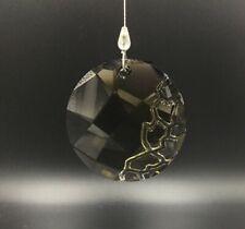 Swarovski Crystal New Sun Catcher, Earth Element SCS Gift, Black Window Ornament
