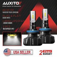 2x AUXITO H8 H9 H11 LED Headlight kit High Low Beam Bulb 6000K 9000LM 100W