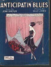 Anticipatin Blues 1921 Sheet Music