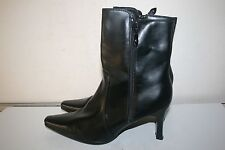 """George """"Betty"""" Women's Pointed Toe Boots, Black Size 8.5"""