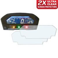 2 x Honda NC750 2016+ Dashboard Screen Protector: Ultra-Clear