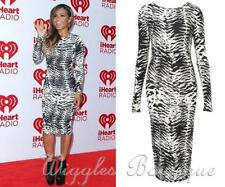 Cocktail Animal Print Stretch, Bodycon Dresses for Women