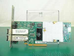 HP QR487A 3PAR StoreServ 7000 2-Port 10Gb/SEC ISCSI/FCOE Adapter
