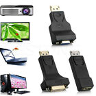 DP Display Port Male to DVI/HDMI/VGA Female Converter Adapter For PC Laptop 1pc