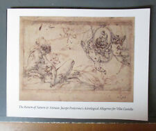 Return of Saturn & Astraea: Jacopo Pontormo's Astrological Allegories Villa Cas