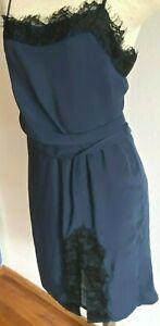 Victoria's Secret Spaghetti Strap Lingerie Nightgown Lined Cocktail Slip Dress 4