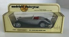 Matchbox Models Of Yesteryear Y-20 1937 Mercedes-Benz 540K Silver Car