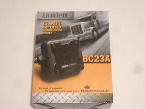 UNIDEN BEARCAT BC23A 15W AMPLIFIED CB SCANNER EXTERNAL COMMUNICATIONS SPEAKER