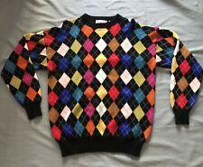 NEW EDWARD CARACCI FOR SAKS FIFTH AVENUE Man's 100% Cashmere Sweater Sz Medium