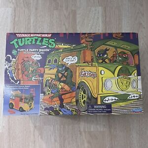 Walmart Exclusive TMNT PARTY WAGON Playmates Ninja Turtles Reissue