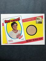 2002 Topps O Pee Chee Archives Authentic Peice Of Detroit Olympia Seat