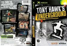 TONY HAWK'S UNDERGROUND MICROSOFT XBOX GIOCO NUOVO UK COMPATIBILE CON XBOX 360