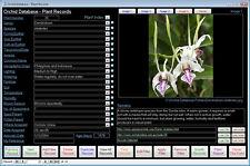 Orchid Management Database Software NEW Pro VERSION suit Windows 7/8/10 XP Vista