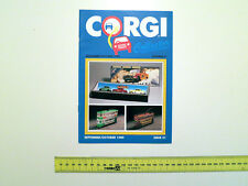 CORGI colector catalogo 1989 Auto-modello PROSPEKT'89 TOY catalog Model Car Flyer