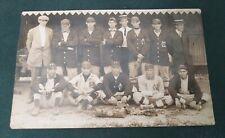 Old Antique 1912 Photo Postcard RPPC New Cumberland PA Baseball Team historical