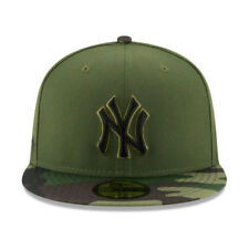 New York Yankees New Era 2017 MLB Memorial Day 59FIFTY Cap Olive  SIZE-6 5/8