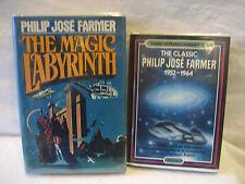 Philip Jose Farmer MAGIC LABYRINTH Classics vintage scifi hardcover book lot HC
