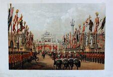 London Bridge Kürassier Parade Guard Wedding Eduard VII Alexandra Danimarca