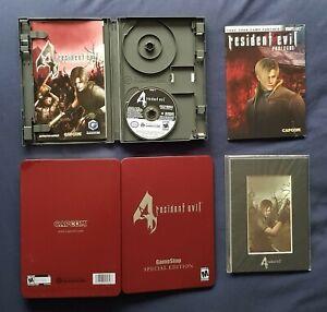 Resident Evil 4 Gamecube Steelbook - GameStop Special Edition - NO DISC 1