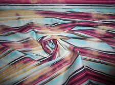 Baumwolle Mischung Tie-Dyed, Fadeout leicht gecrashed in Mehrfarbige Streifen