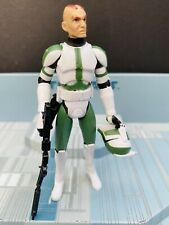 STAR WARS AOTC   ACTION  FIGURE  LOOSE -CLONE COMMANDER GREE