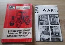 Massey Ferguson Schlepper MF590 Betriebsanleitung