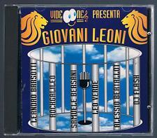 GIOVANI LEONI SAMUELE BERSANI LEANDRO BARSOTTI D.J. FLASH LEO VERDE CD F.C.