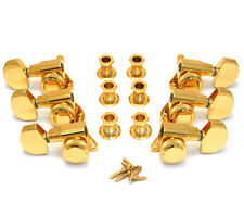 Schaller Gold LOCKING 3x3 Tuners for Electric Guitar TK-0976-002
