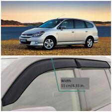 HE12000 Window Visors Vent Wide Deflectors For Honda Stream I 2000-2006