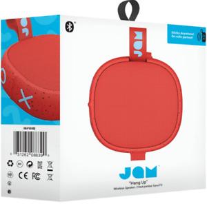 NEW IN BOX JAM Audio Hang Up Wireless Bluetooth Speaker, Red, HX-P101RD